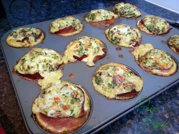 Clean Eating Recipes: Bacon Egg Cups