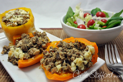 Stuffed Peppers - clean and healthy recipe
