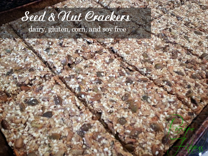 Gluten Free Nut and Seed Crackers